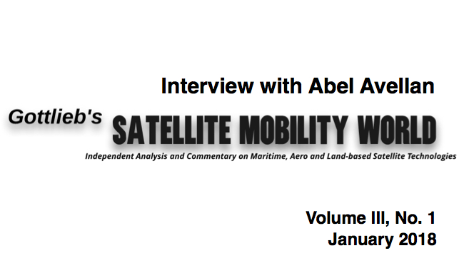 Gottlieb's Satellite Mobility World: Interview with Abel Avellan