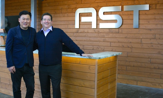 Rakuten and Vodafone Invest in AST & Science